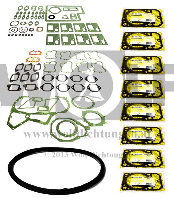 191404  Steyr Motordichtsatz - Inklusive 8 Zylinderkopfdichtungen: ZKD 193.526